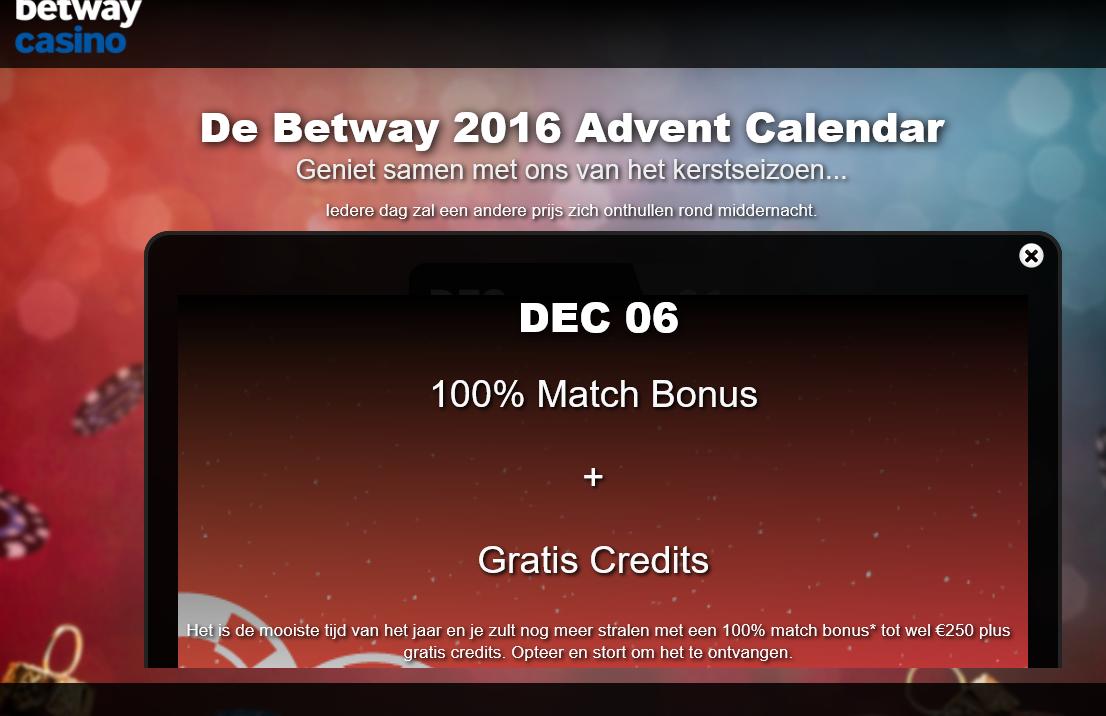 betway-advent-kalender