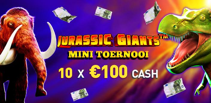 DOe mee met de Jurassic Giants Mini Toernooi