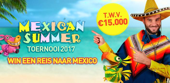 Wins een reis naar Mexico bij Casino777