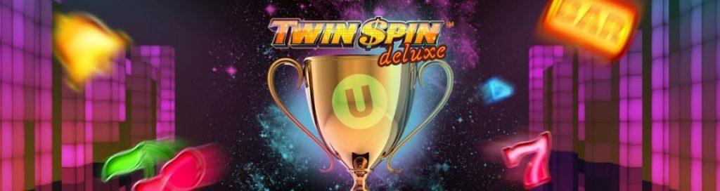 Twin Spin Deluxe Toernooi exclusief bij Unibet