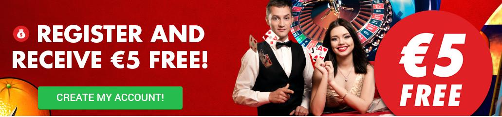 circus casino 5 euro gratis