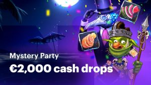 Mystery Party met €2000 Cash bij Napoleongames.be