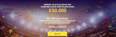 Champions League Promo €50.000