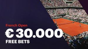 €30.000 Gratis Weddenschappen Live Tennis Napoleongames.be
