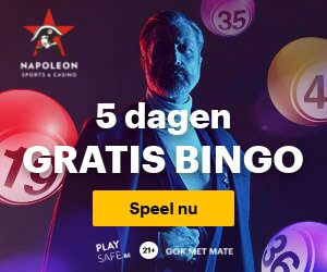 Gratis 5 dagen Bingo Napoleongames.be