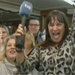 Lotto TV reporter Jackpot