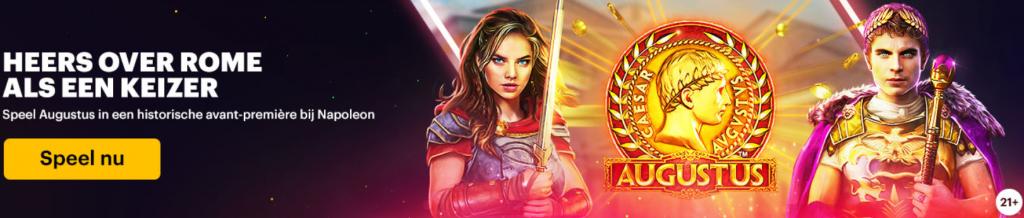 Toppers van de 2e week November 2020 online casino 777 Napoleon Circus