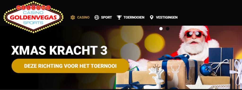 Goldenvegas Kersttoernooi online casino 2020
