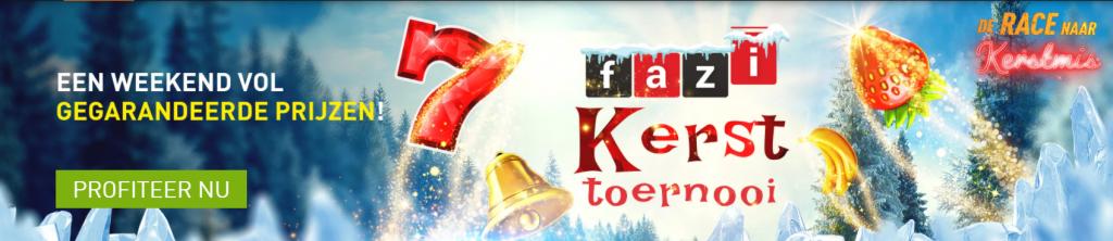 Mega Fazi Kersttoernooi online Casino 777 Race naar Kerstmis speelhal