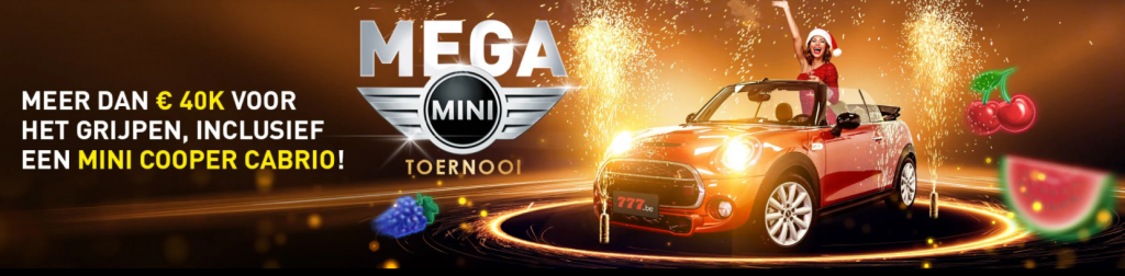 Mega Mini toernooi online speelhal Casino 777