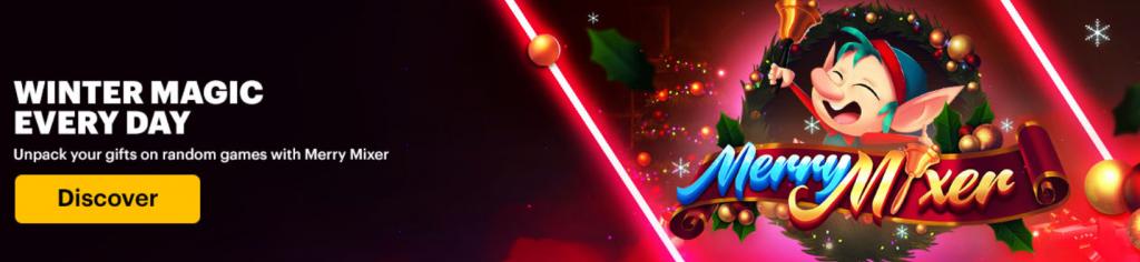 Merry Mixer Online December Casino Games Napoleongames