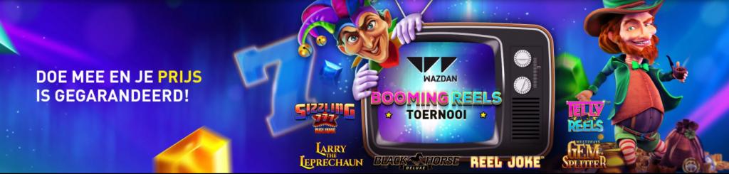 Booming Reels Toernooi Casino 777 online speelhal 2021