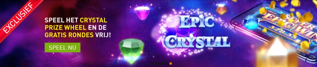 Epic Crystal nieuwe gokkast online casino 777 speelhal 2021