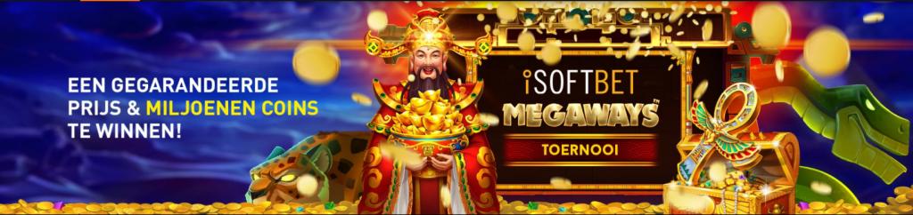 Miljoenen Coins iSoftBet Megaways online Casino speelhal 777