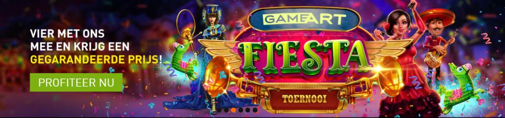 GameArt Fiesta toernooi Casino 777 Prijzenpot Jackpot Geldkluis online speelhal