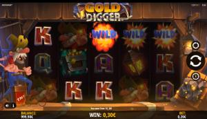 Gold Digger iSoftBet Wilde Westen online slot Casino 777 Circus februari 2021