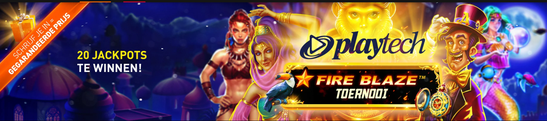 Playtech Fireblaze toernooi 2021 Weekendgames eind februari Casino 777 online speelhal