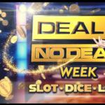 Deal or No Deal week bij Casino 777 online speelhal Live Dice 2021