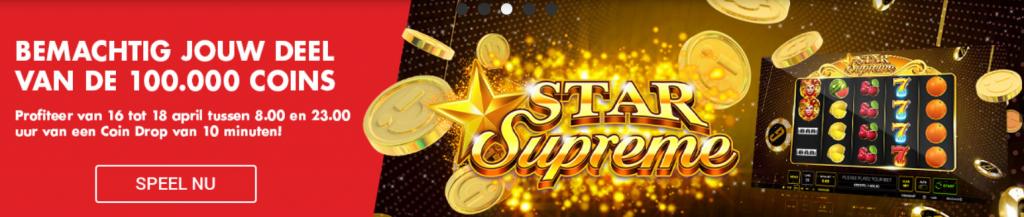 Coins Drop Circus Casino Weekend Promo Star Supreme speelhal 2021 online