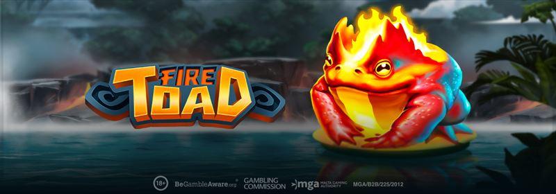 Fire Toad Play 'n Go videoslot online Casino 777 Unibet Circus Napoleon Nieuw