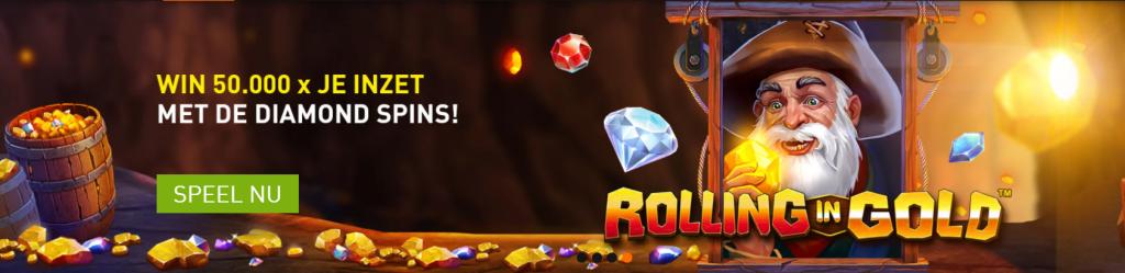 Rolling in Gold Casino online Speelhal 777 Speltoppers nieuwe videoslots gokkasten 2021