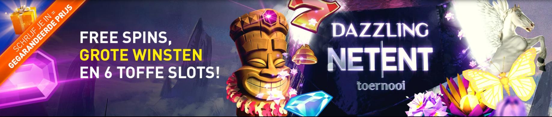 Dazzling NetEnt toernooi Casino 777 online speelhal Altijd prijs weekend Gratis spins 2021