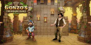 Gonzo's Treasure Hunt Live Online Casino 777 Speelhal Spellen van de week Nieuw gokkast videoslots 2021