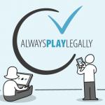 Illegale goksites Always Play Legally Kansspelcommissie 2021