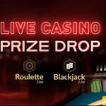 Live Casino Prize Drop Roulette Black Jack online Casino 777 €250 winst 2021