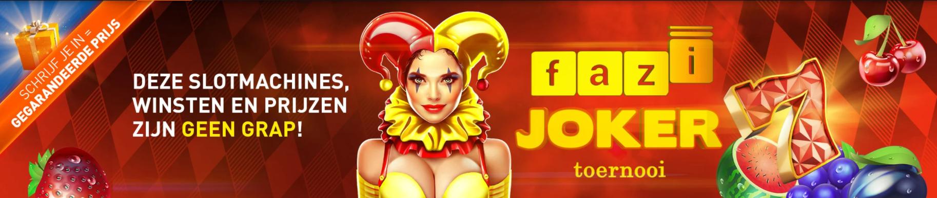 Casino 777 online Speelhal Fazi Joker Toernooi Gratis prijzen Geldkluis tokens 2021