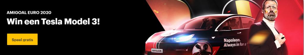 Gratis Wedstrijd Amigoal Euro 2020 Tesla Model 3 Unibet Sport Napoleon Sports & Casino Online