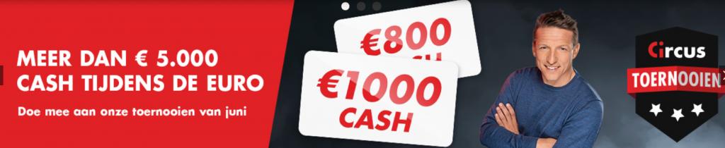 Heropening Casino's Speelhallen online Circus Sport Wedkantoren Cash prijzen toernooien 2021