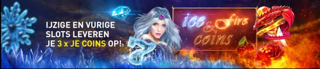Ice & Fire Coins Ijs en Vuur slots online casino toernooi 777 gokkasten videoslots 2021