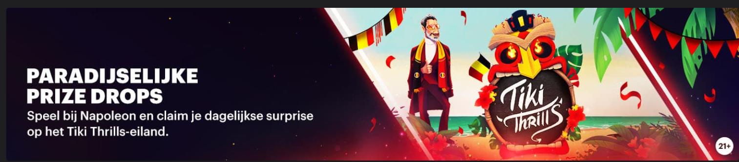 Napoleon Sports & Casino Specials Prize Drops Online Live Jackpot Rad van Fortuin 2021