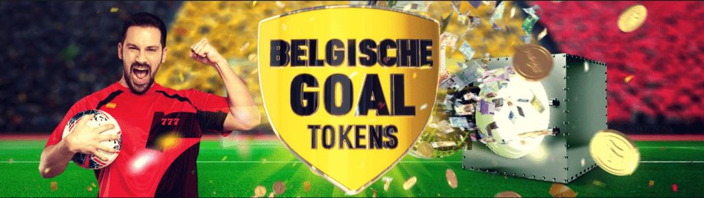 Belgische Goal Tokens Casino online Bet 777 wedkantoor speelhal Euro 2020 voetbal Promo's 2021