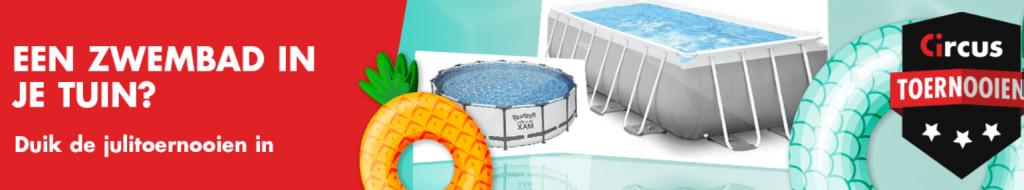 Julitoernooien bij Circus Casino online Speelhal Videoslots Gokkast Prijzenpot Zwembad Cash 2021