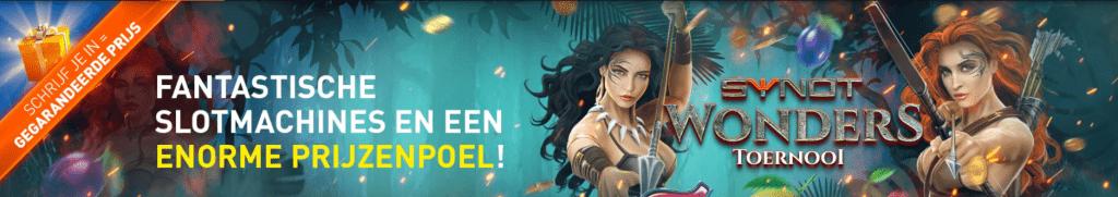 Weekend toernooi Prijzenpot Geldkluis Jackpot Tokens online Casino 777 speelhal Videoslots gokkast Synot