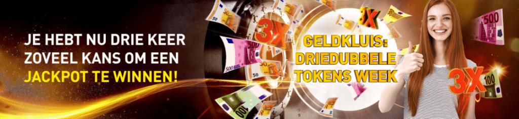 Geldkluis Promo driedubbele Tokens Jackpot online Casino 777 speelhal kansspel inzet 2021