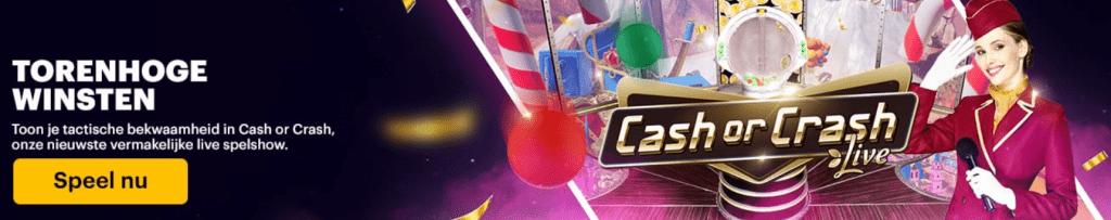 Nieuw Games Live Cash or Crash Napoleon Sports & Casino online 2021
