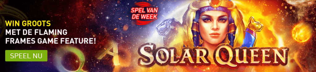 Solar Queen videoslot Nazomer games online speelhal Casino 777 spellen 2021