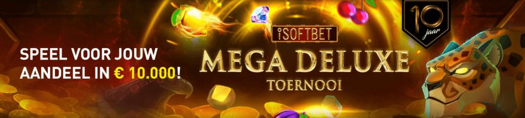 iSoftBet Mega Deluxe toernooi verjaardag online Casino 777 speelhal 10.000 Jackpot Prijzenpot 2021