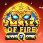 9 Masks of Fire Exclusief Topgames videoslots gokkasten slot 2021 online speelhal Casino Napoleon Unibet Circus 777