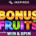 Bonus Fruits win & spin videoslots gokkast slot Spel van de week Casino 777 online speelhal Jackpot 2021